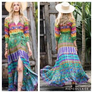 Ruby Yaya Templo Maxi Dress Festival Boho Gypsy